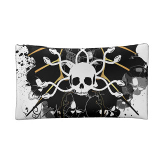 Skull with snakes makeup bags