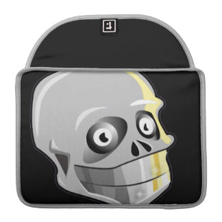 Skull With Sparkling Teeth Sleeve For MacBooks