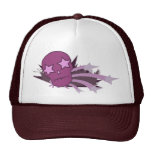 Skull with Star Eyes Trucker Hat
