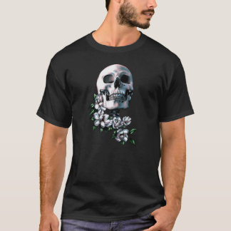 Skull with Sugar Magnolias T-Shirt