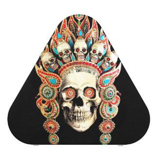 Skull with Tibetan Headdress Speaker