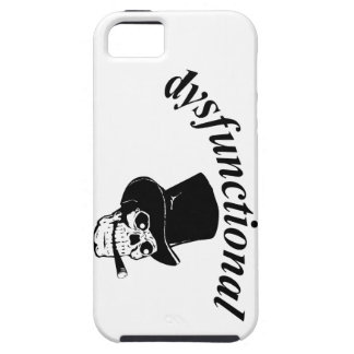 Skull with top hat iPhone 5 covers