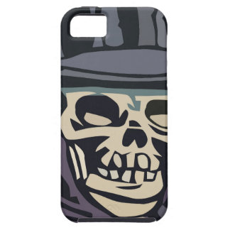 Skull with top hat iPhone SE/5/5s case