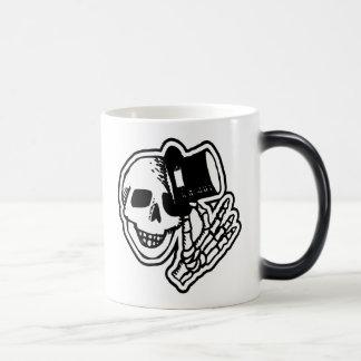Skull With Top Hat Magic Mug