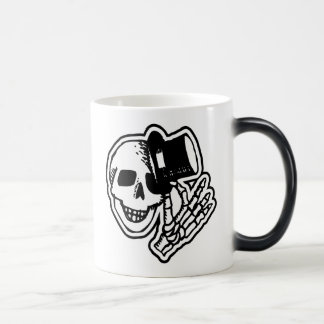 Skull With Top Hat Mugs