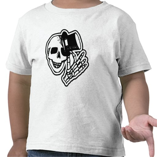 Skull With Top Hat Shirt