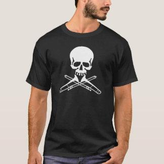 Skull with Trombones as Crossbones T-Shirt