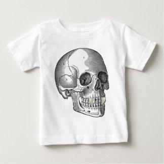 SKULL WITH VAMPIRE FANGS BABY T-Shirt