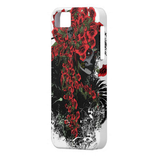 Skull woman iPhone 5 5S Barely case iPhone 5/5S Cases