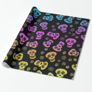 Skull Wrapping Paper