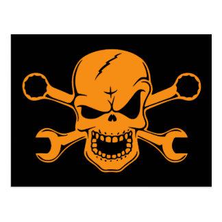 Skull & Wrenches III Postcard