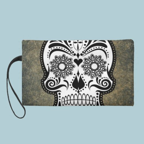 Skull Wristlet Clutches