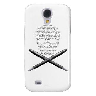 Skull Writer Galaxy S4 Case