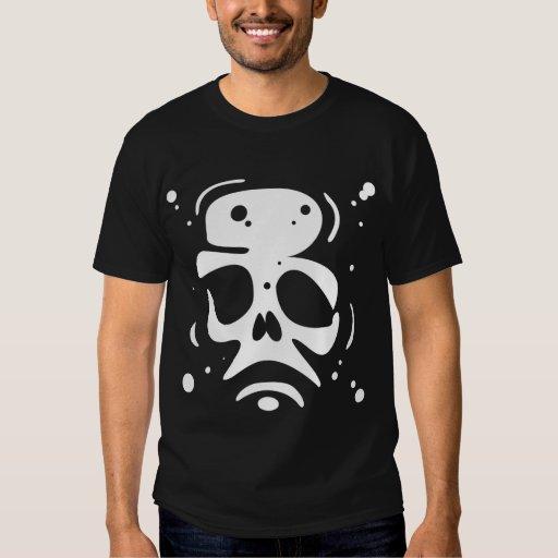 Skull_x2 Remera