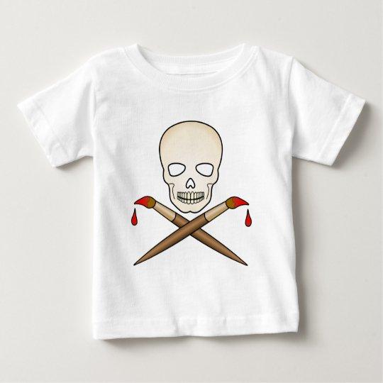 Skull_X_Bone Artist Baby T-Shirt