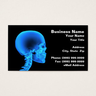 Skull X-Ray Business Card