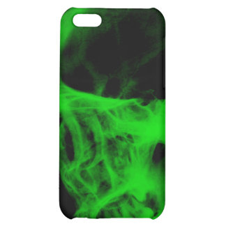 Skull X-Ray iPhone 3 Case Black Neon Green iPhone 5C Covers