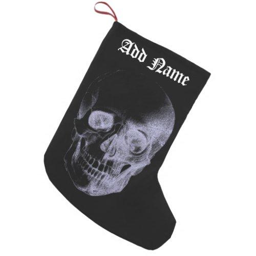 Skull X_Ray Small Christmas Stocking