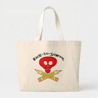 Skull xbones Back-to-School Bag bag