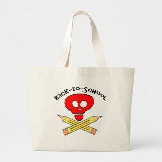 Skull xbones Back-to-School Bag