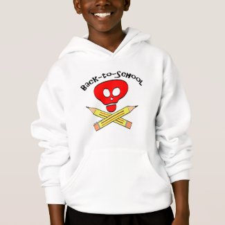 Skull xbones Back-to-School Sweatshirt
