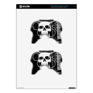 SKULL XBOX 360 CONTROLLER DECAL