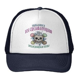 Skullabee's Ice Creamatorium Trucker Hat