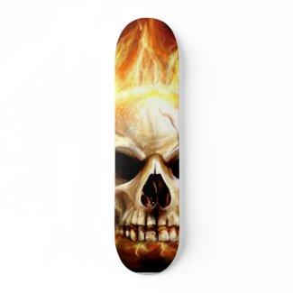 skullandfire1 skateboard