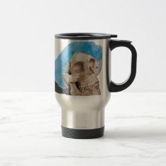 SkullAndHairnet103013.png Travel Mug