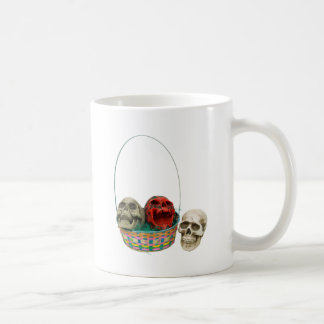 SkullBasket042109 Coffee Mug