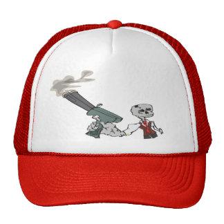 Skullboy and His Smokin' Gun Trucker Hat