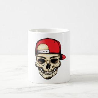 skullcap coffee mug