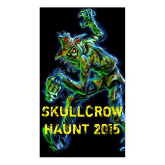 SkullCrow Scarecrow Business Card