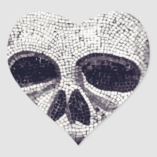 Skulldugery Heart Sticker