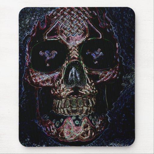 skullduggery1 mouse pad