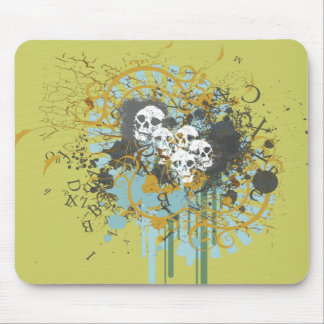 Skulledelic Mouse Pad