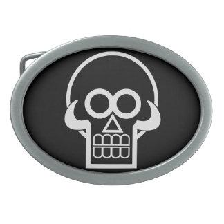 Skullery Belt Buckle