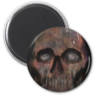 Skullface Zombie Magnet