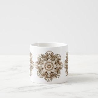 SkullFlakes Mug 6 Oz Ceramic Espresso Cup