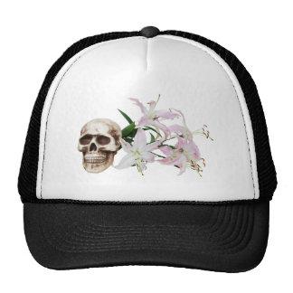 SkullFlowers051409 Gorras