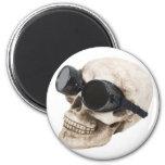SkullGoggles073109 Fridge Magnets