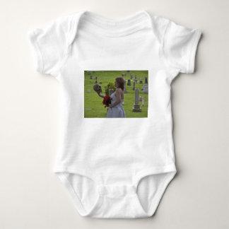 SkullGraveyard091810Hor Baby Bodysuit