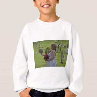 SkullGraveyard091810Hor Sweatshirt