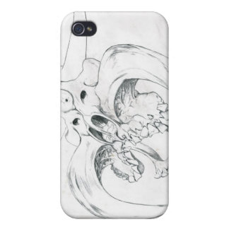 skullhead for iphone4 iPhone 4/4S cover