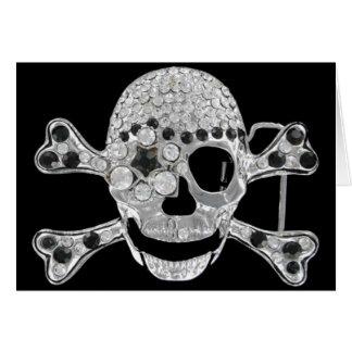 skullhead greeting card