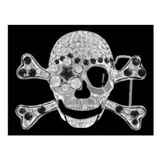 skullhead postcard