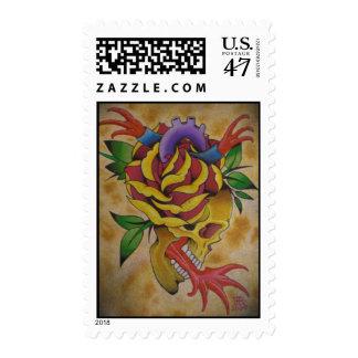 skullheart postage