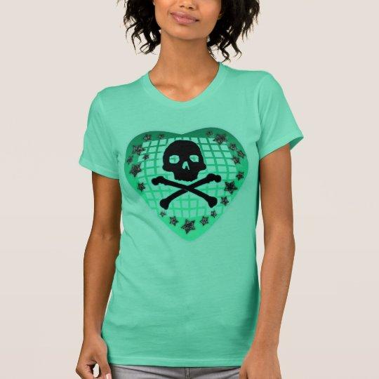 skullie heart T-Shirt