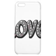 Skullies Love iPhone 5C Cover