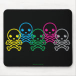 SkullKrush™ 30s O Lim Pix Mousepad Alfombrillas De Raton